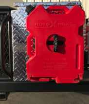 RotopaX Fuel Can - 2 Gallon CAD Drawing